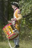 Los músicos del tambor se realizan Imagen de archivo