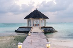 Los Maldivas hermosos fotos de archivo libres de regalías