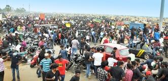 Los manifestantes de Jallikattu se mantienen firmes: el 'We'll va a casa solamente después que el SC levanta la prohibición Imagenes de archivo