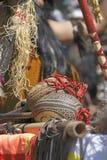 Los maracas de los instrumentos de los Andes Fotos de archivo