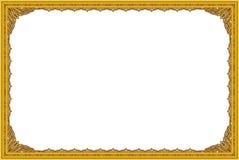 Los marcos y las fronteras decorativos del vintage fijaron, marco de la foto con la línea de la esquina, silueta de la esquina Fotografía de archivo