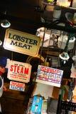 Los mariscos de Faidley del mercado de Lexington Fotografía de archivo libre de regalías