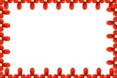Los Matchsticks confinan con el fondo blanco Imagenes de archivo