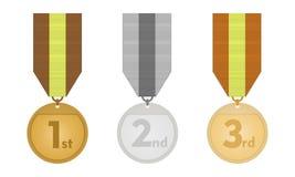 Los medallones Imágenes de archivo libres de regalías