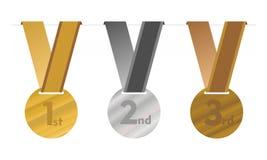 Los medallones Imagenes de archivo