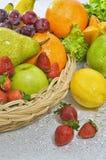 Los mejores cuadros de la fruta y verdura Fotos de archivo libres de regalías