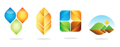 Los mejores diseños del logotipo Fotos de archivo libres de regalías