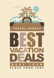 Los mejores tratos de las vacaciones Foto de archivo libre de regalías