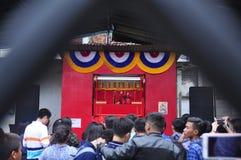 Los mercados acogieron con satisfacción el Año Nuevo chino en Semarang Fotografía de archivo libre de regalías