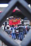Los mercados acogieron con satisfacción el Año Nuevo chino en Semarang Imagen de archivo