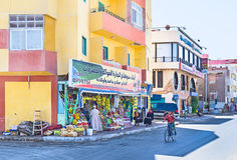 Los mercados de Hurgada Fotografía de archivo