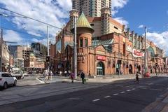 Los mercados del arroz de Sydney Es una empresa comercial en Sydney, Australia: 13/04/2018 imágenes de archivo libres de regalías
