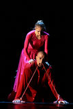 Los miembros de Yevgeny Panfilov Ballet Studio de la ondulación permanente realizan a Romeo y Juliet durante IFMC el 22 de noviemb Fotos de archivo