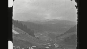 Los militares alemanes entrenan a viajar a través de las montañas