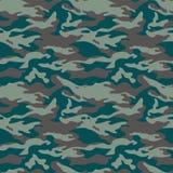 Los militares camuflan el modelo inconsútil Tres colores Estilo del arbolado Para el web y la impresión Fotografía de archivo