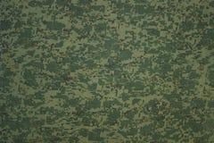 Los militares camuflan la materia textil Fotos de archivo