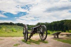 Los militares de Gettysburg del cañón parquean foto de archivo libre de regalías