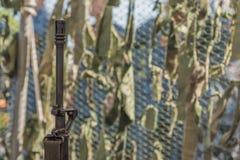 Los militares de la textura camuflan redes Foto de archivo libre de regalías