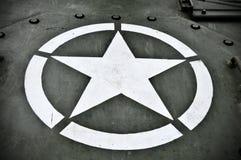 Los militares de los E.E.U.U. Star Imágenes de archivo libres de regalías