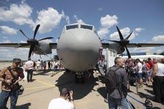 Los militares espartanos de C-27J transportan Imagen de archivo libre de regalías