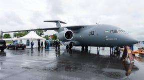 Los militares transportan los aviones Antonov An-178 Foto de archivo