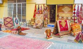 Los modelos de alfombras turcas Foto de archivo