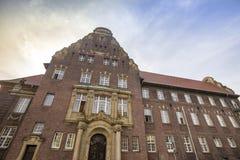 Los moers Alemania del tribunal de distrito Foto de archivo libre de regalías