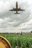 Los momentos pasados de aeropuerto del wujiaba Fotografía de archivo libre de regalías