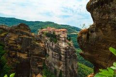 Los monasterios de Metéora Fotografía de archivo