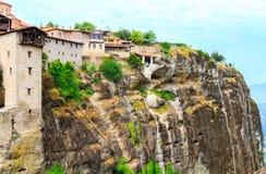 Los monasterios de Metéora Imagen de archivo libre de regalías
