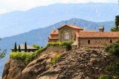 Los monasterios de Metéora Foto de archivo