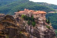 Los monasterios de Metéora Fotografía de archivo libre de regalías
