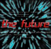 Los montajes futuros stock de ilustración
