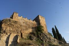 Los monumentos históricos de la ciudad del ¡de CÃ ceres, España fotografía de archivo