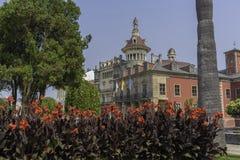 Los Moreno toren Ribadeo, Lugo - Spanje royalty-vrije stock fotografie