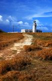 Los Morrillos Lighthouse royalty free stock image