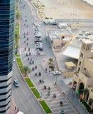 Los motoristas exhiben en Ajman Imagen de archivo