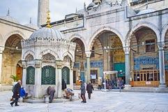 Los musulmanes Imagenes de archivo