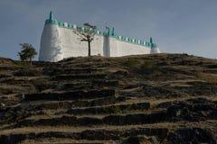 Los musulmanes de Idgaha ruegan o namaz en día especial imágenes de archivo libres de regalías