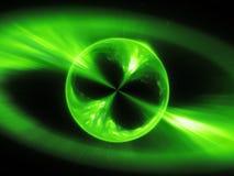Los mysterios Supermassive se oponen en la explosión del rayo gama del espacio, fondo abstracto generado por ordenador, represent ilustración del vector