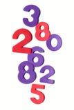 Los números confusos Foto de archivo libre de regalías