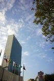 Los Naciones Unidas que construyen en Nueva York Imagen de archivo libre de regalías