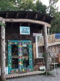 Los negocios coloridos de la isla de Hornby, A.C. Imágenes de archivo libres de regalías