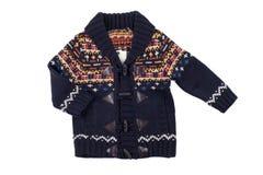 Los niños calientan el chaleco (suéter), aislado Imagen de archivo libre de regalías