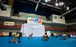 Los niños compiten en la competencia internacional de la danza de SpringCup Fotos de archivo