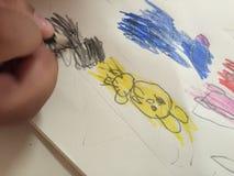 Los niños drenan fotos de archivo libres de regalías