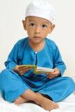Los niños islámicos aprendían Foto de archivo