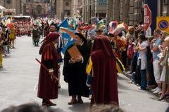 Los nobles de Italia Fotografía de archivo