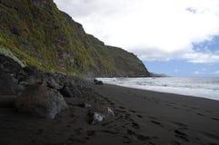 Los Nogales beach. La Palma stock images