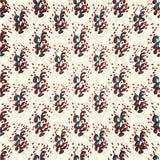 Los objetos abstractos con los corazones en un modelo inconsútil del vector del fondo ligero wallpaper Imagenes de archivo